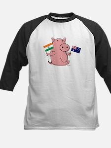AUSTRALIA AND INDIA Kids Baseball Jersey