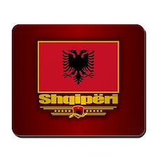 Albanian Flag Mousepad