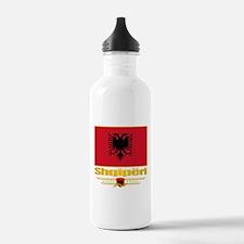 Albanian Flag Water Bottle