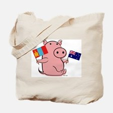 AUSTRALIA AND MONGOLIA Tote Bag