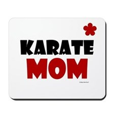 Karate Mom 1 (Cinnamon) Mousepad