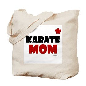 Karate Mom 1 (Cinnamon) Tote Bag