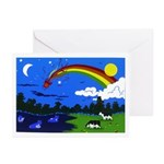 Night & Day Greeting Cards (Pk of 10)