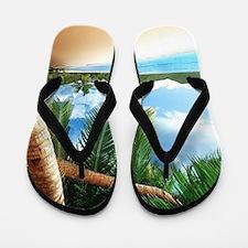 Beautiful Beach Flip Flops