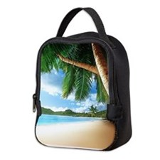 Beautiful Beach Neoprene Lunch Bag