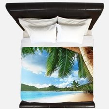 Beautiful Beach King Duvet