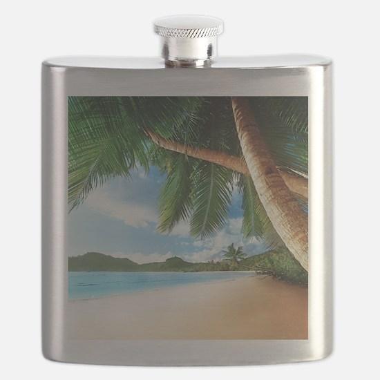 Beautiful Beach Flask