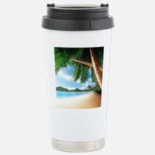 Beautiful Beach Travel Mug