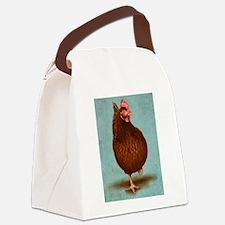 Rhode Island Red Canvas Lunch Bag