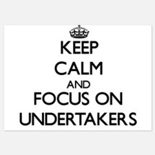 Keep Calm by focusing on Undertakers Invitations