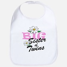 Big Sister Of TWINS Bib
