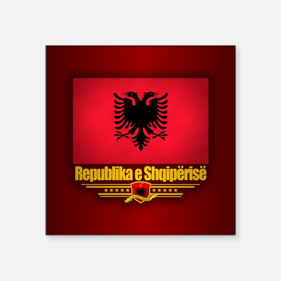 Republic of Albania Sticker