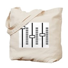 Audio Balance Control Tote Bag