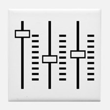 Audio Balance Control Tile Coaster