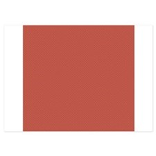 Red Green Tiny Quatre Foil Pattern Invitations