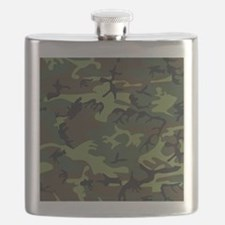 Combat Army Camouflage Flask