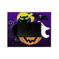 Cute Halloween Scene Picture Frame