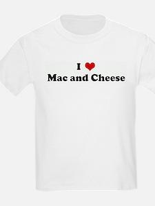 I Love Mac and Cheese T-Shirt