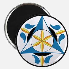 Spiritual Rain Hex Magnet