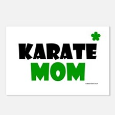 Karate Mom 1 (Grass) Postcards (Package of 8)