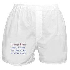 Warning: Retiree Boxer Shorts