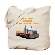 Flat Bed Drivers Tote Bag