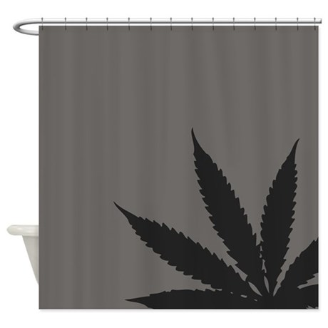 cannabis hemp weed shower curtain by admin cp142414