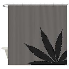 Cannabis Hemp Weed Shower Curtain