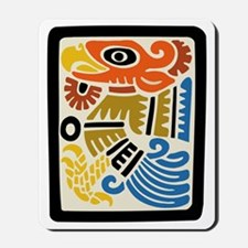 Mexican Aztec Eagle Mousepad
