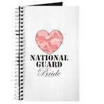 National Guard Bride Camo Heart Journal