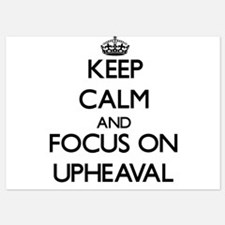 Keep Calm by focusing on Upheaval Invitations