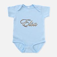 Gold Elsa Body Suit