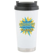 Attention Span Shiny Travel Mug