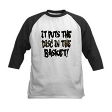 It Puts the Disc in the Basket Baseball Jersey