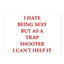 trap shooter Postcards (Package of 8)