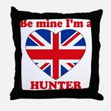 Hunter, Valentine's Day Throw Pillow