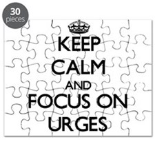 Keep Calm by focusing on Urges Puzzle