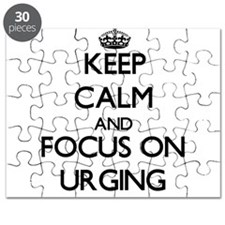 Keep Calm by focusing on Urging Puzzle