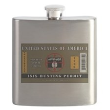 ISIS Hunting Permit Flask
