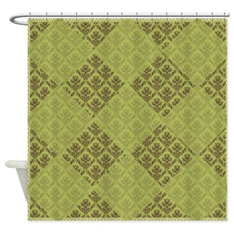 Olive Green Shower Curtain By Showerdecor