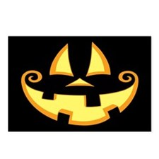 Jack-o-Face Postcards (Package of 8)