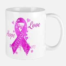 Survivor Love Hope Cure Mug