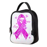 Breast cancer survivor Neoprene Lunch Bag
