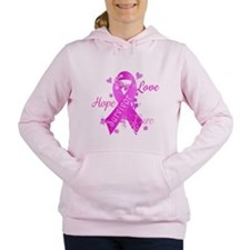 Survivor Love Hope Cure Women's Hooded Sweatshirt
