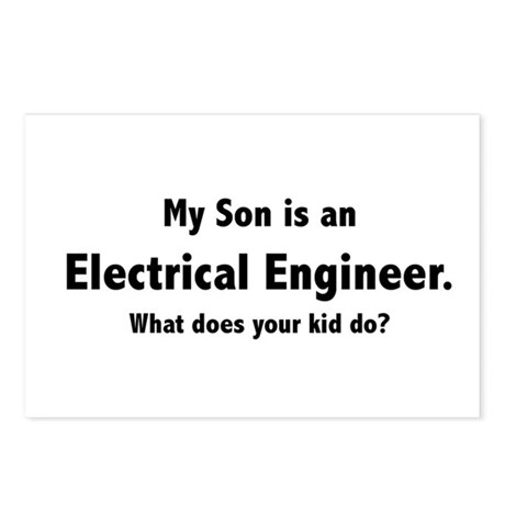 Electrical Engineer Son Postcards (Package of 8)