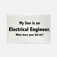 Electrical Engineer Son Rectangle Magnet