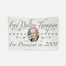 Fred Dalton Thompson Rectangle Magnet