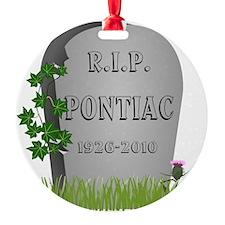 R.I.P. Pontiac Ornament