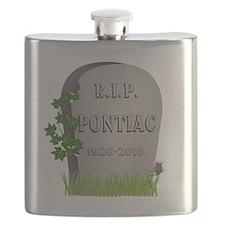 R.I.P. Pontiac Flask