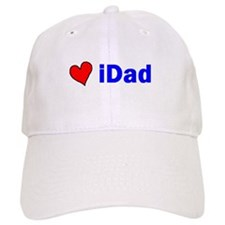 iDad (with a heart) Baseball Cap